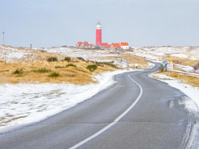 Sfeervolle winter op Texel in een huisje