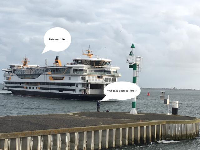 Ein Aufruf zum 'Nichts-tun auf Texel'