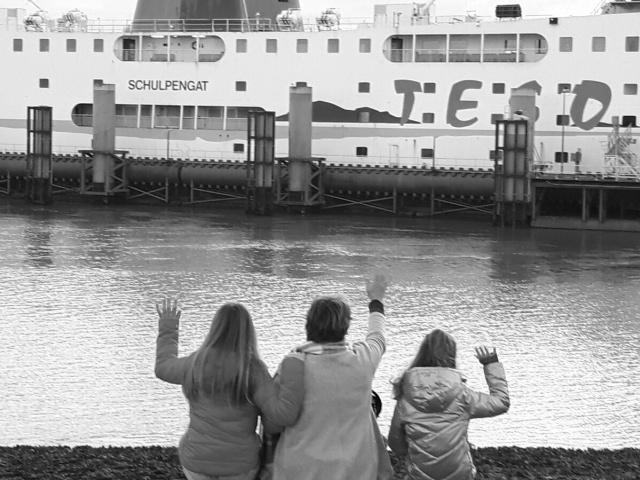 Niemals mehr mit der Fähre Schulpengat nach Texel